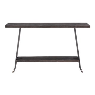 Transitional Sarreid Ltd. Rift Console Table For Sale