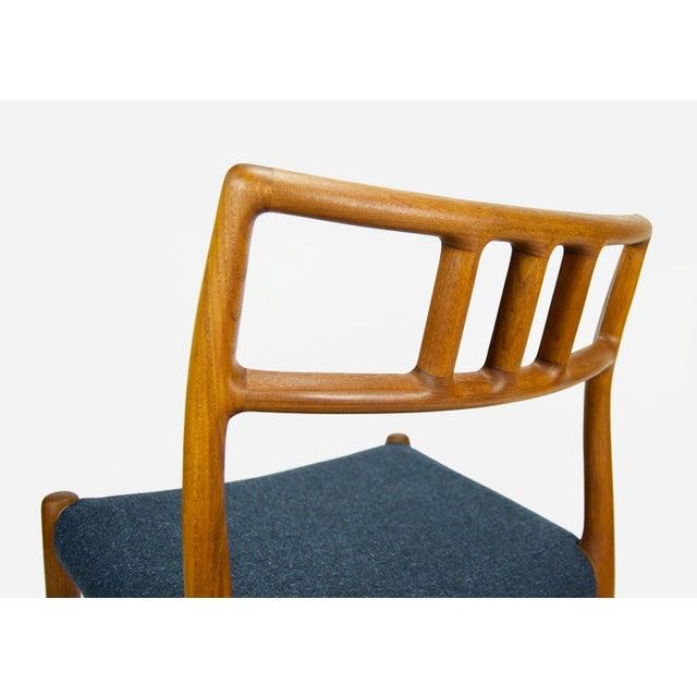 Niels O. Møller Teak Model 79 Dining Chairs - Set of 4 For Sale - Image 10 of 12