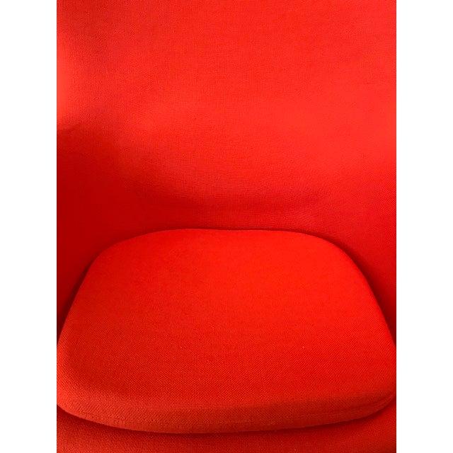 Fritz Hansen The Egg Chair by Arne Jacobsen For Sale - Image 4 of 5
