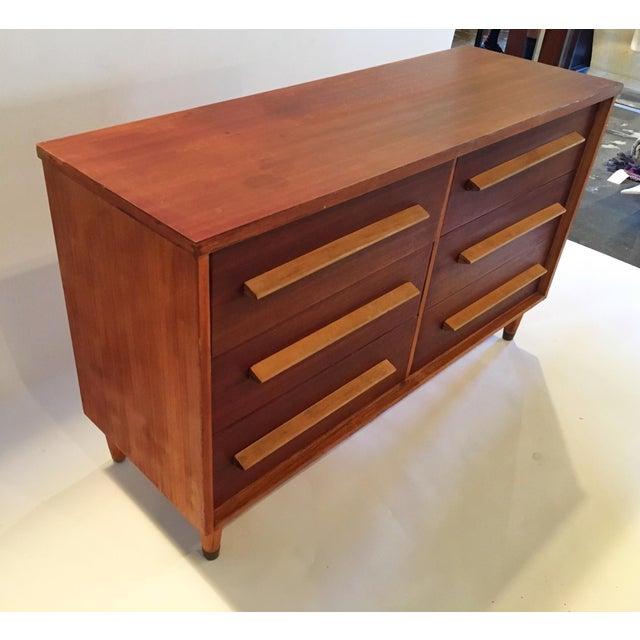 Mid-Century 6-Drawer Dresser - Image 4 of 5