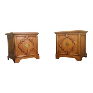 Heritage Mid-Century Side Tables - a Pair