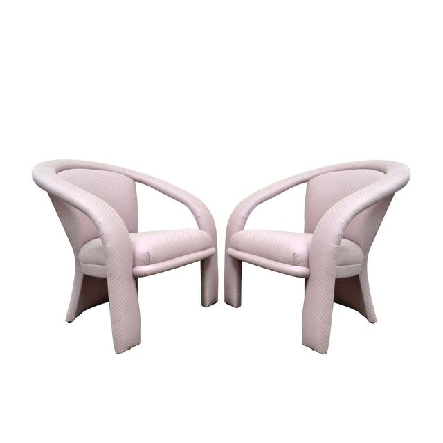Carson's Sculptural Mid-Century Modern Lounge Chairs - A Pair - Image 11 of 11