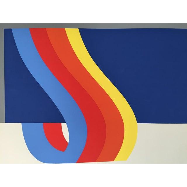 Nadine Pardo 1972 Abstract Silkscreen For Sale - Image 9 of 9