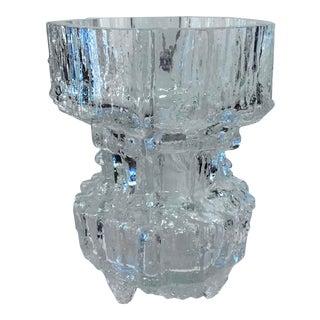 Tapio Wirkkala for Iittala Finnish Glass Vase For Sale