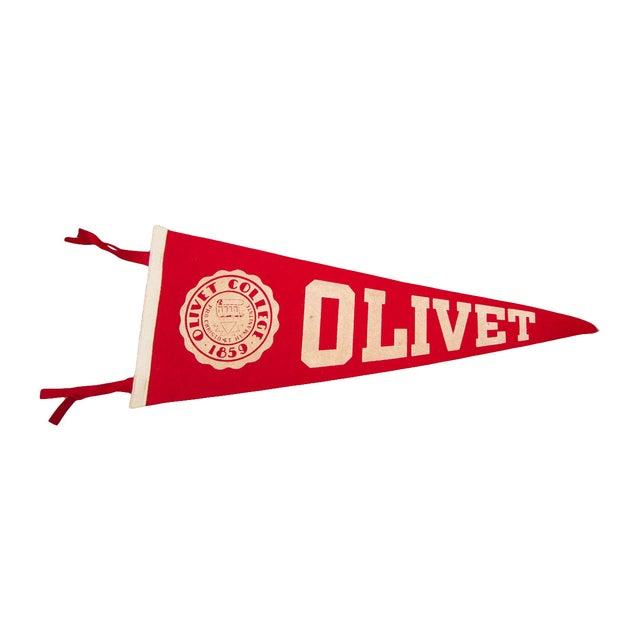 Olivet College Felt Flag For Sale
