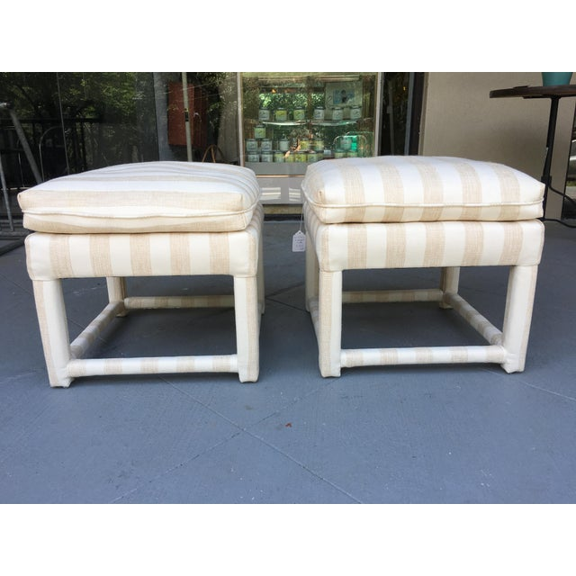 Mid-Century Parsons Stools - A Pair - Image 2 of 7