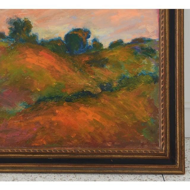 Abstract Large Original Juan Pepe Guzman, Ojai California Oil Painting For Sale - Image 3 of 9