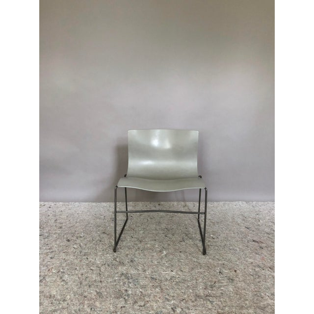 """Knoll Massimo Vignelli for Knoll """"Handkerchief"""" Chairs - Set of 4 For Sale - Image 4 of 12"""