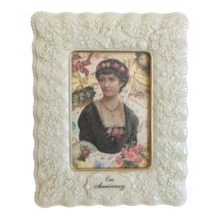 Vintage Lenox Wedding Anniversary Portrait Picture Frame For Sale