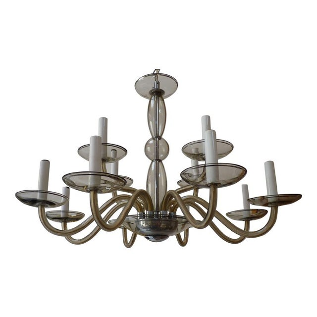 Murano Chandelier c.1960's - Image 1 of 4