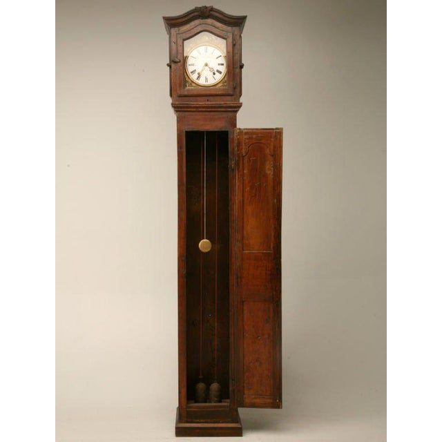 C1820 French Antique Tall Case Clock For Sale - Image 10 of 10