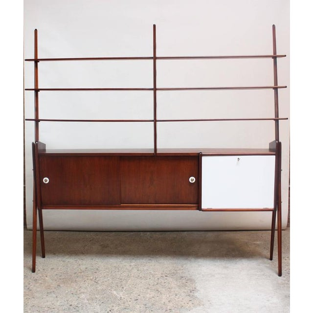 Mid-Century, Italian Modern Freestanding Wall Unit - Image 2 of 10