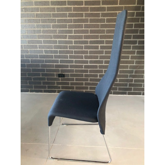 """B&b Italia """"Lazy"""" Chairs - Set of 6 For Sale In Salt Lake City - Image 6 of 9"""