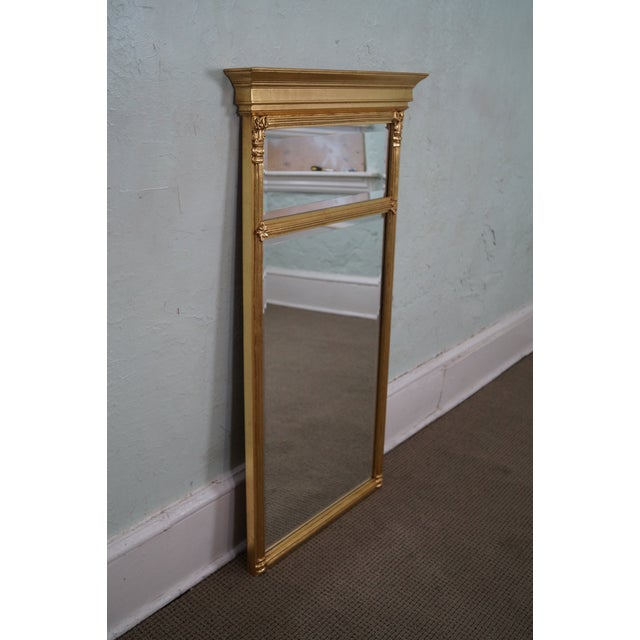 Italian Made Gilt Federal Hanging Wall Mirror - Image 3 of 10
