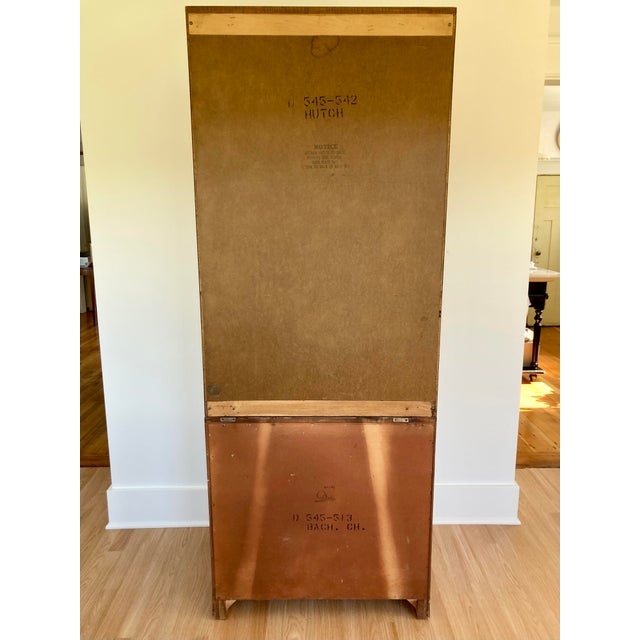 Late 20th Century Dixie Campaign Dresser With Shelves For Sale - Image 12 of 13