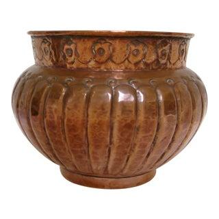 Vintage Copper Planter Pot