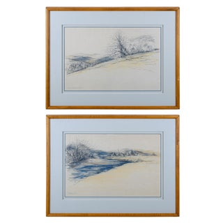 Sketches of East Tennessee Scenes - A Pair