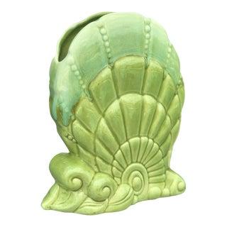 Vintage Royal Haeger Shell Vase For Sale
