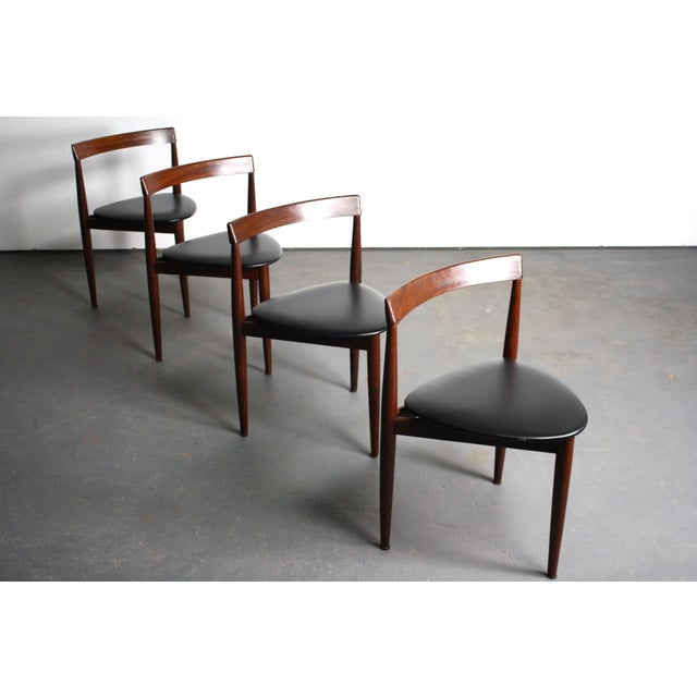 Rosewood Hans Olsen Dining Chairs - Set of 4 - Image 6 of 6