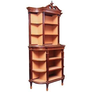 Regency Display Cabinet For Sale