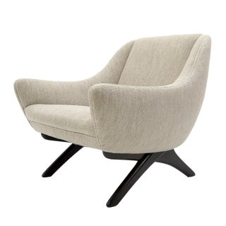 1960s Vintage Illum Wikkelso ML-90 Armchair For Sale
