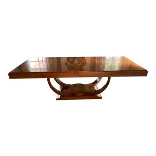 French Art Deco High Gloss Dining Table