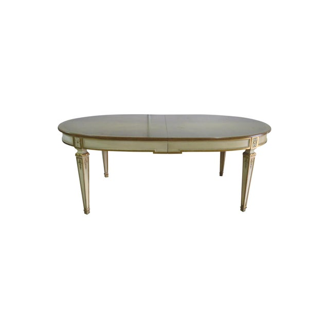 20th Century Swedish Paint Decorated Dining Table For Sale - Image 12 of 12