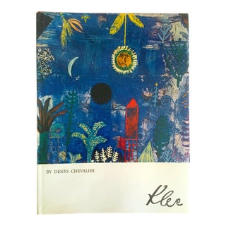 Paul Klee 1st Edtn Vintage 1974 Collector's Hardcover Modernist Art Book For Sale