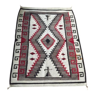 1960s Vintage Native American Inspired Rug / Textile Art For Sale