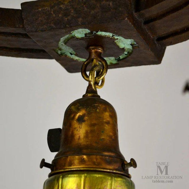 Craftsman Cast Iron Fixture For Sale - Image 10 of 13