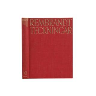 """""""Rembrandt Valda Teckningar"""", 1947 For Sale"""