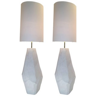 Contemporary Floor Lamps in Ceramic by Roberto Razeni, Italy For Sale
