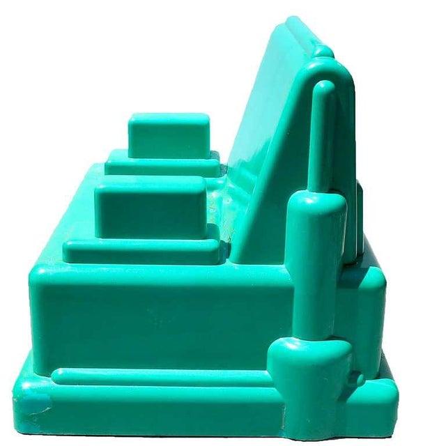 """Marco Zanini Marco Zanini """"Roma"""" Fiberglass Chair for Memphis For Sale - Image 4 of 7"""