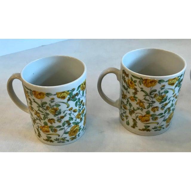 Vintage Japanese Ceramic Tea or Coffee Mugs - Set of 6 For Sale - Image 10 of 12