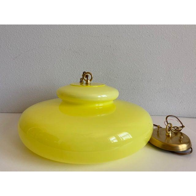 Italian Modern Pendant Chandelier For Sale - Image 11 of 12