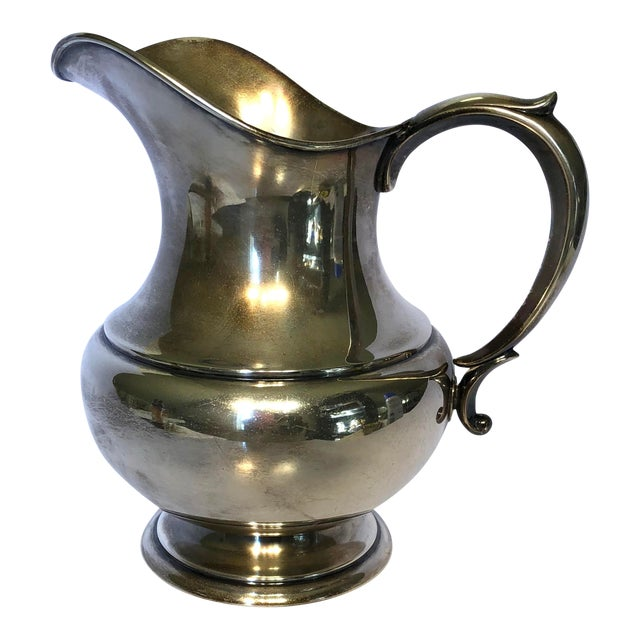 1950s Reed & Barton Sterling Silver Pitcher For Sale