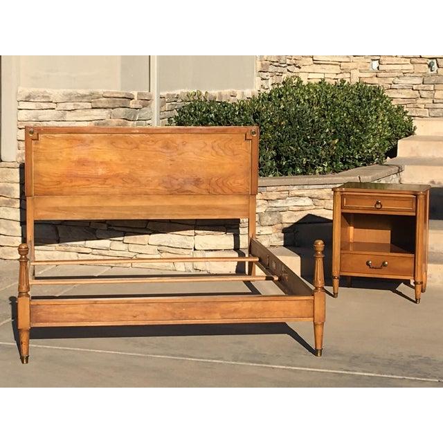 1950s Danish Modern j.b. Van Sciver Co. Nightstand Side Table For Sale - Image 12 of 13