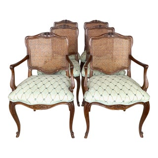 Vintage Kindel Borghese Dining Chairs - Set of 6 For Sale