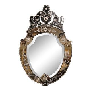 Mid-20th Century Italian Venetian Beveled Mirror For Sale
