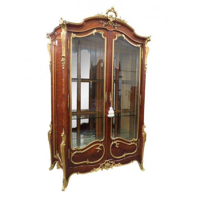 Signed Francois Linke Louis XV Cabinet For Sale - Image 12 of 12