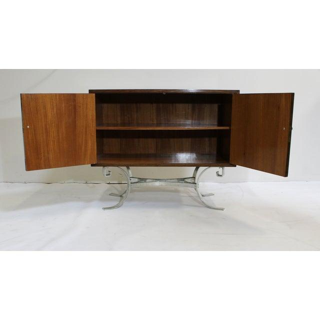 Mid-Century Italian Walnut Cabinets - A Pair - Image 6 of 9