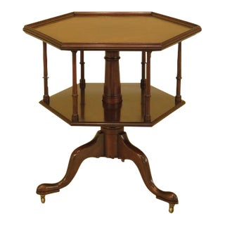 Kittinger Cw-161 Colonial Williamsburg Revolving Mahogany Table For Sale