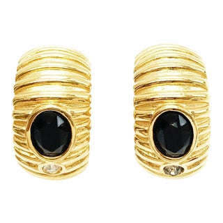 Pair of Clip-On Earrings by Givenchy For Sale