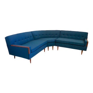 Mid Century Paul McCobb Style Sectional Sofa For Sale