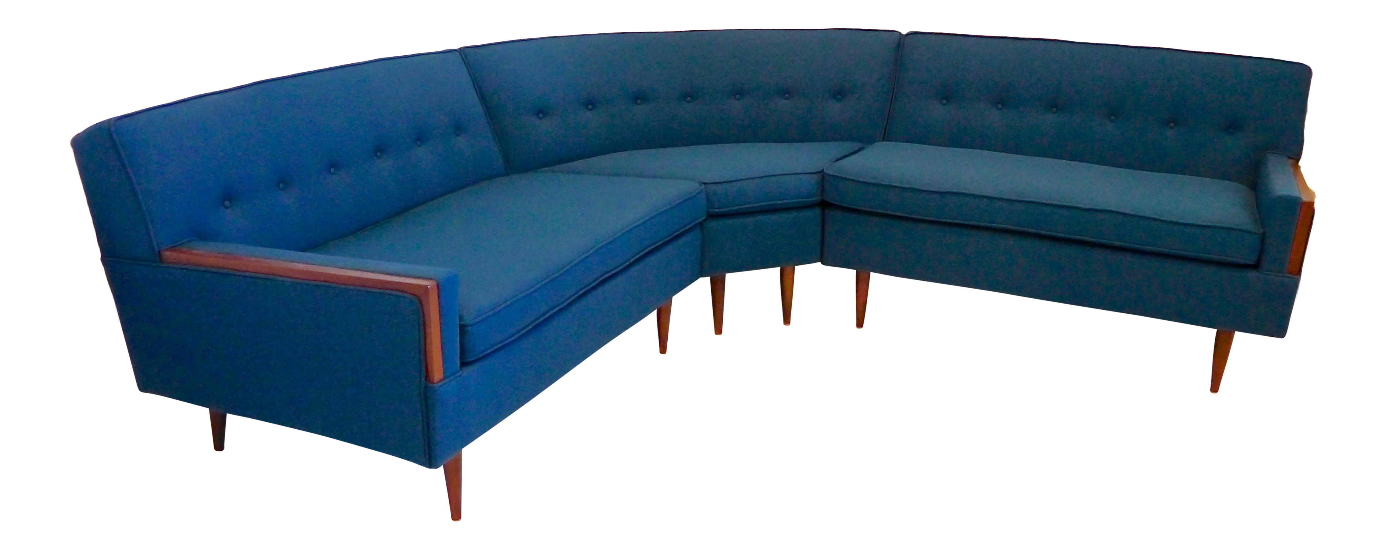 Mid Century Paul McCobb Style Sectional Sofa