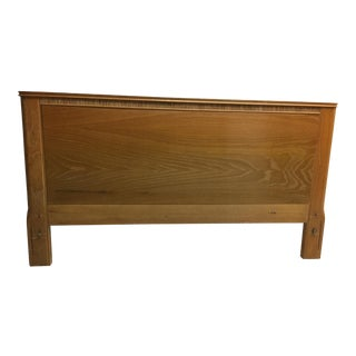 Paul Frankl Headboard Designed for Brown & Saltman
