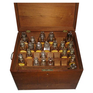 Antique Doctor's Apothecary Cabinet