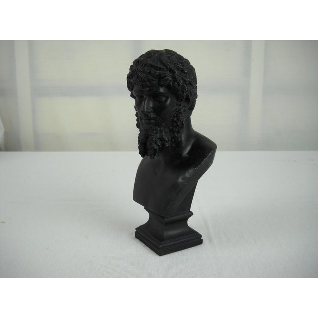 Classical Cast Metal Greek Bust - Image 3 of 8