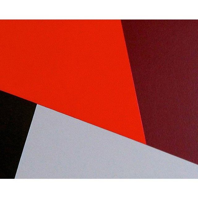 """Abstract Daniel Göttin """"Slopes B6"""", Painting For Sale - Image 3 of 4"""