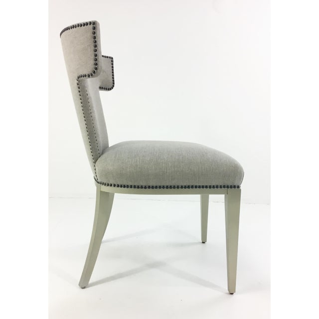 2010s Caracole Uptown Klismos Dining/Desk Chair For Sale - Image 5 of 7